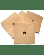 Zoo-Max Leather Squares Large (10 stuks)