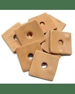 Zoo-Max Leather Square Small (10 stuks)