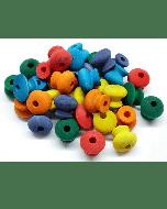 Zoo-Max Wood Parts Mix Color (36 stuks)
