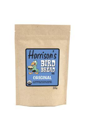 Harrison`s Bird Bread Mix Original is een biologische bakmix waarmee je voor je vogel kan gaan bakken. Het enige wat je hoeft te doen is een ei, wat olie en wat water toe te voegen, mengen tot een glad deeg en vervolgens afbakken in de oven.