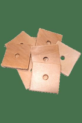 Zoo-Max Leather Square Medium (10 stuks)