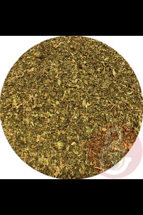 Papayablad kan gedroogd gegeven worden door de chop of het kan gebruikt worden om drinkwater van te trekken (thee).