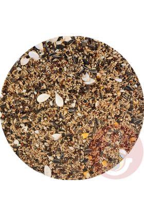 Dit premium zaadmengsel is speciaal samengesteld voor de Rose Kaketoe. Bij de samenstelling is rekening gehouden met de vetten van de zaden. Deze mengeling bevat daarom ook maar 5 procent vet.