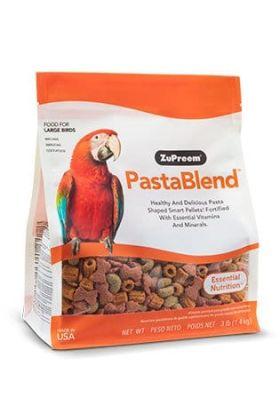 ZuPreem PastBlend Large Birds is een dagelijkse essentiële voeding voor grote vogels.