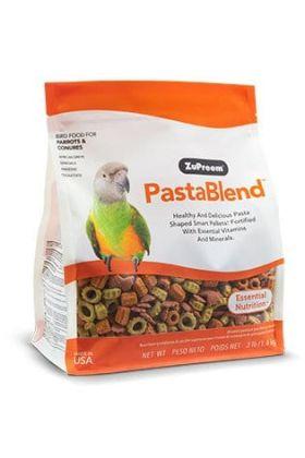 ZuPreem PastBlend Parrots & Conures is een dagelijkse essentiële voeding voor middelgrote tot grote vogels.