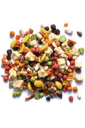 ZuPreem Pure Fun™ voor medium vogels is een hoogwaardige mix van fruit, FruitBlend® Flavour Smart Pellets™, groenten en noten om jouw vogel te prikkelen en te verrijken.Deze blend bevat een heerlijke mix van stukken van de juiste grootte voor jouw vog